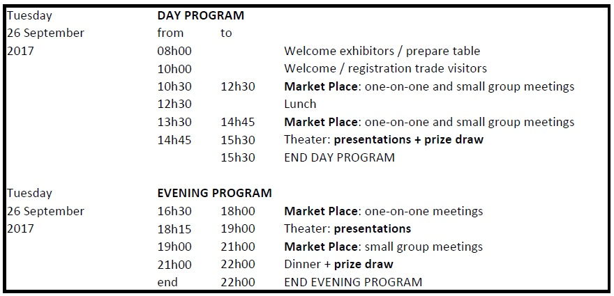 TCLW exhibitors program