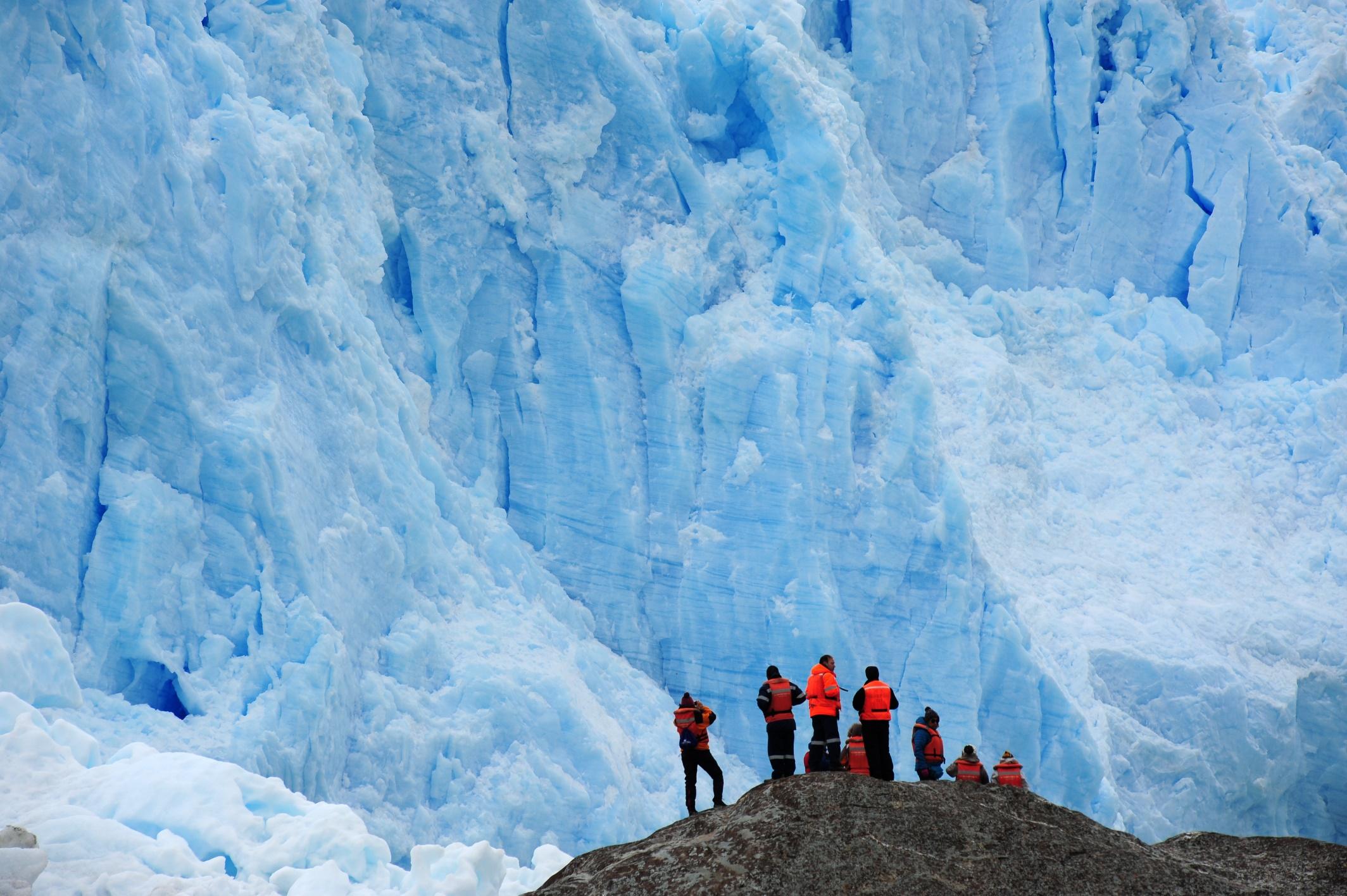 40_Desembarco Glaciar El Brujo - kopie
